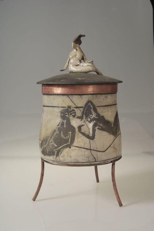 Maidens in Repose amphora