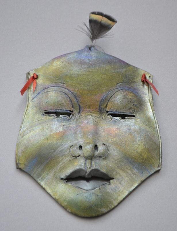 Peacock Goddess Mask